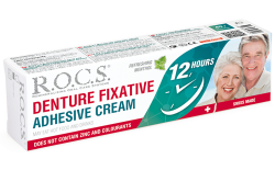 Adhesive cream for dental prostheses